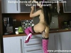 prolapse pump in the kitchen vid