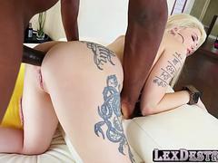 Анальный секс, Блондинки, Секс без цензуры, Межрасовый секс