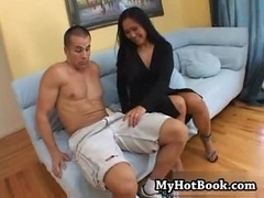Kity Langdon gets creampied in this one on one sce