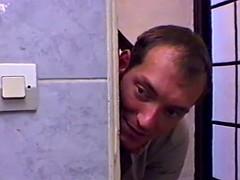 Salle de bains, Gros seins, Allemand