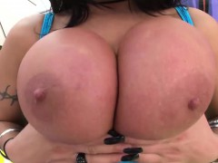 August Taylor rides cock in her ass