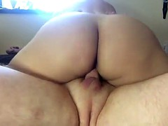 Big Ass Riding His Hard Cock With Creampie