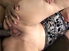 Granny Anal Fuck Wants Black Cock In Ass Interracial Anal