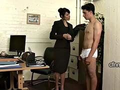 カテゴリ - 着衣女と全裸男