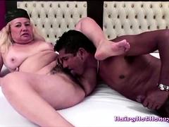 Hairy Mature Masturbates