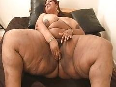 Gorda, Tetas grandes, Negro, Ébano