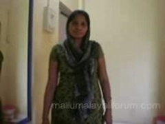 housewife in salwar removing & geting nude in bed