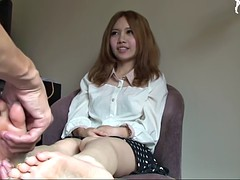japanese feet massaged