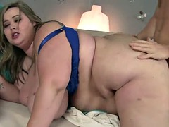 SSBBW GETS JACKHAMMERED