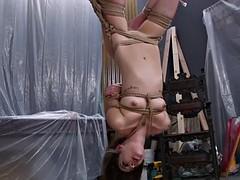 blonde bitch dominates over nasty slut