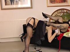 stockings les finger brit