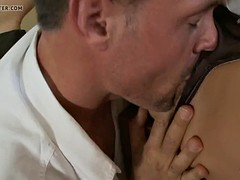 sexy brunette is getting fucked and pleasured.mp4