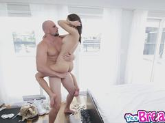 Petite Lily Jordan got her pussy licked