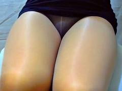 crossdresser pantyhose legs 129