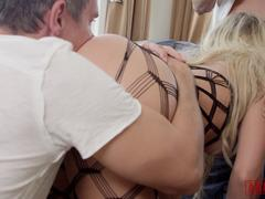 ANALIZED - Blonde Step Sisters Ass Fucking Orgy