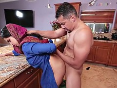 Arab girl Ada S gets a big dick