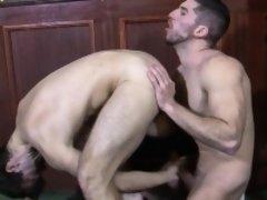 Muscular british hunks buttfuck in pub