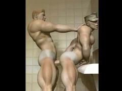Muscular Boys 3D