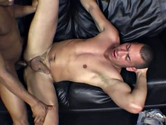 shy latino gets her first black cock lesson