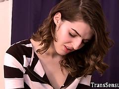Blasen, Hd, Interrassisch, Transfrau, Titten