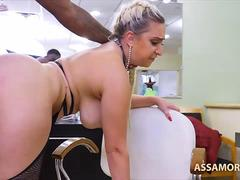 Ass Worship Nina Kay Interracial Anal Sex