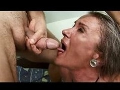 Granny Showers then Gets down and dirty