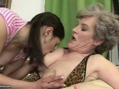 Aged and Young-looking lesbians