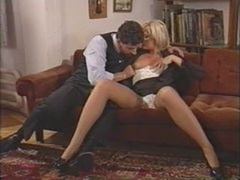 Hot italian sexually available mom enjoys dp by a couple of guys