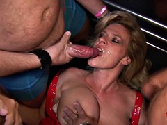 Multiple Cumshots Orgy - Marina Part 1