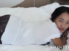 Asiatisch, Tussi, Wohlbeleibte schöne frauen, Grosser schwanz, Braunhaarige, Behaart, Milf, Reiten