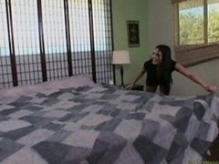 Wife and also mom Lorena Sanchez gets down and also dirty a big black dick