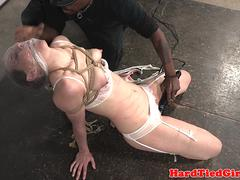 Maledom suffocates sub and toys with vibrator