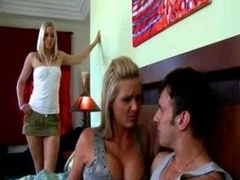 Cheating wife gets involved in dirty three-way