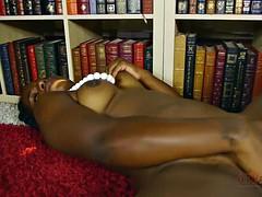 Solo Performance By Horny Ebony Chick