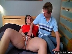 Penis wanted Adult bbw seduces shy lad