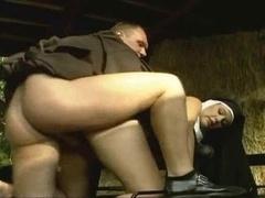Pregnant Nun Backdoor Bang
