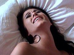アメリカ人, お尻, ベッドルーム, イく瞬間, カワイイ, 彼女, ハードコア, ガリガリ