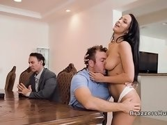 Cheating preachers wife banging their guest