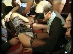 gang-fuck in swingerclub