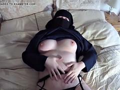 Enthousiasteling, Arabisch, Masturbatie, Moeder die ik wil neuken, Vrouw