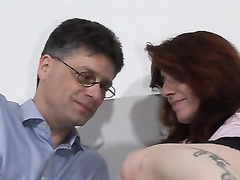 Unshaved milf gets drilled and spunk on her pubic hair