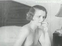 Really unique Vintage vid from 1931 ! Lez experiment 2 hirsute bored housewife milfs. Licking each additional hirsute pink slit and besides getting do