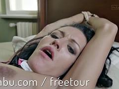 Hot lesbians POV orgasm