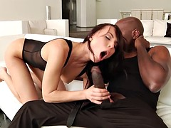 Aidra Fox exploited by Mandingo's BBC