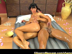 slippery nuru sex massage