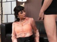 Stockings bitch bang piss