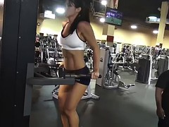 fitness model very very hot ass