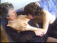 Granny and moreover a boy