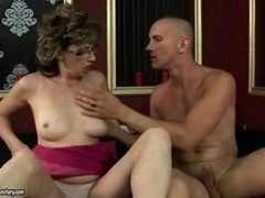 Hot mature female getting fucked hard