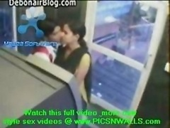 view secret cam video of ATM room sex